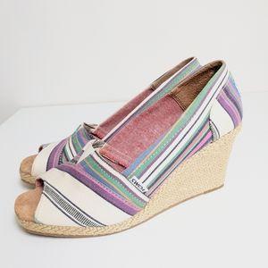 TOM'S Colorway Wedge Heels